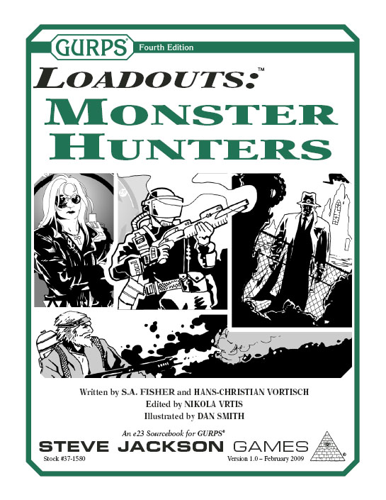 GURPS Loadouts: Monster Hunters