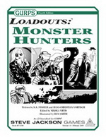 GURPS Loadouts: Monster Hunters cover