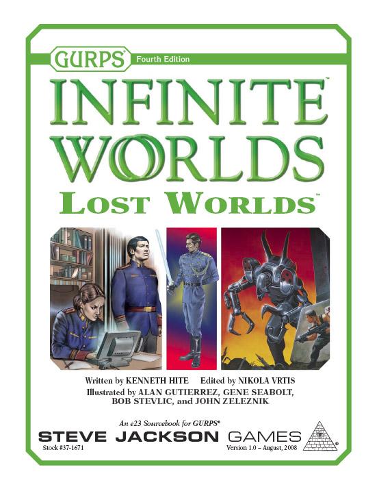 GURPS Infinite Worlds: Lost Worlds