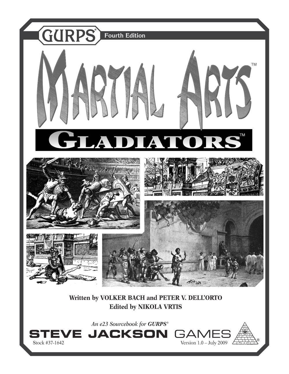 GURPS Martial Arts: Gladiators