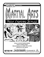 GURPS Martial Arts; Yrth Fighting Styles