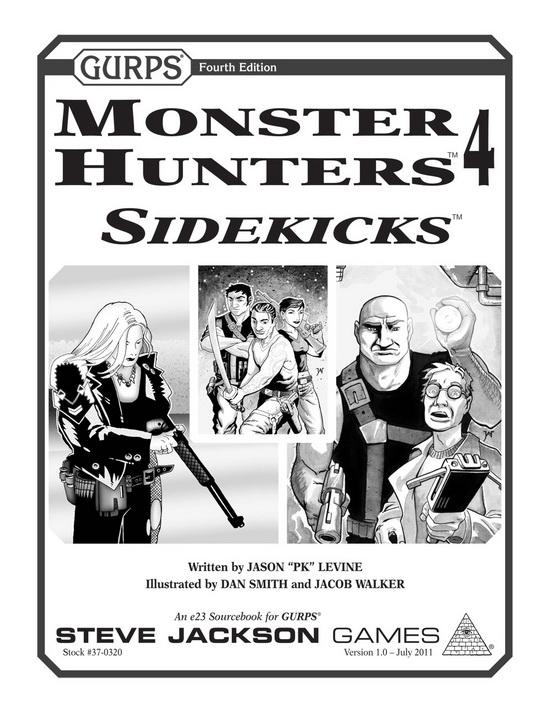GURPS Monster Hunters 4: Sidekicks