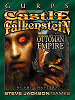 Castle Falkenstein: The Ottoman Empire cover