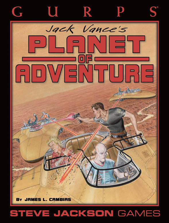 GURPS Planet of Adventure