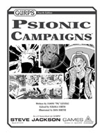GURPS Psionic Campaigns Cover