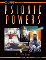 Psionic Powers cover