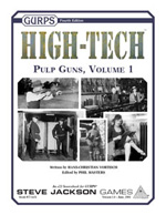GURPS High-Tech: Pulp Guns – Cover