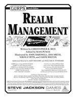 GURPS Realm Management