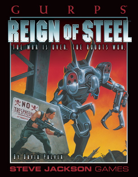 GURPS Reign of Steel (Front)