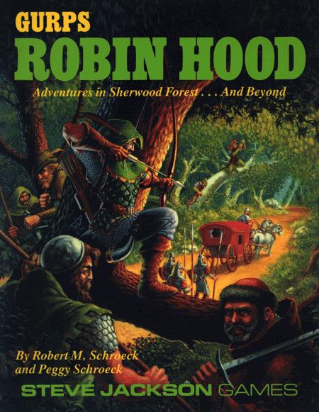 GURPS Robin Hood (Front)