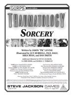 GURPS Thaumatology: Sorcery
