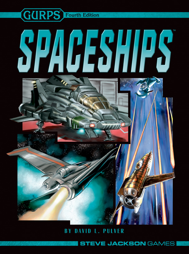 Book Cover Graphism Games : Gurps spaceships