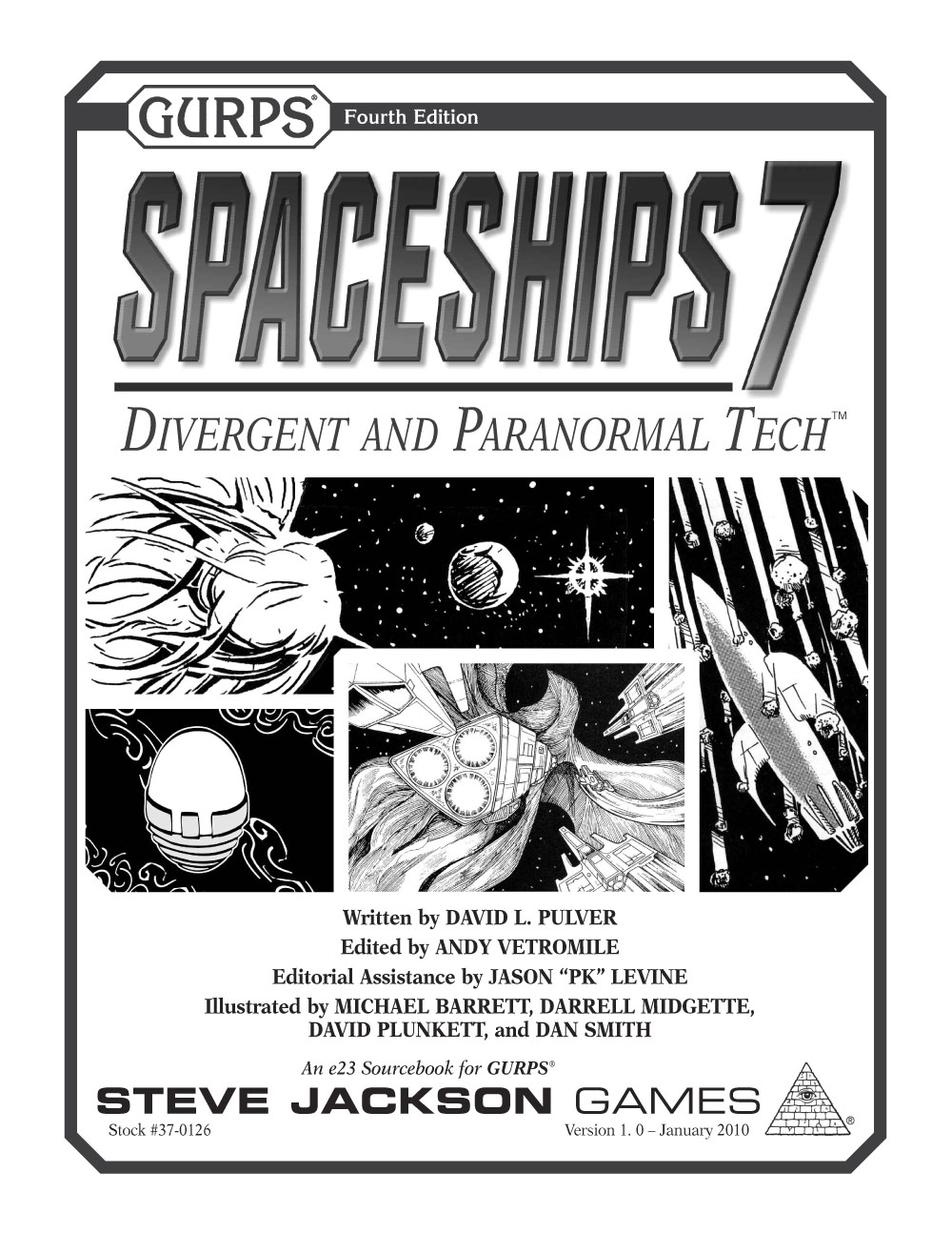 GURPS Spaceships 7: Divergent and Paranormal Tech