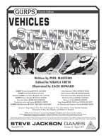 Vehicles: Steampunk Conveyances