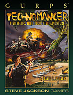 GURPS Technomancer – Cover