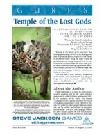 GURPS Temple of the Lost Gods (Front)