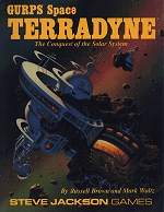 Space: Terradyne cover