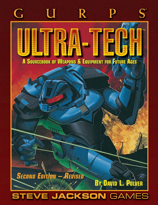 GURPS Ultra-Tech, Second Edition Revised