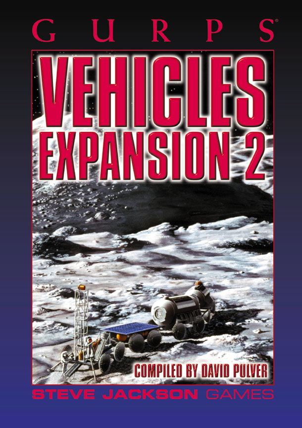 GURPS Vehicles Expansion 2