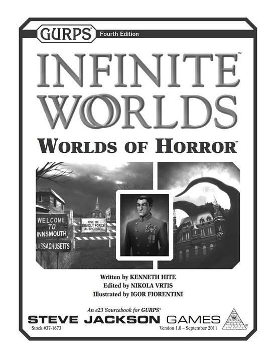 GURPS Infinite Worlds: Worlds of Horror