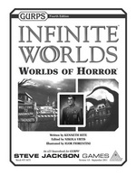 GURPS Infinite Worlds Worlds of Horror