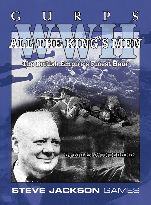 GURPS WWII: All the King's Men