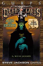 Deadlands Dime Novel 1 – Aces and Eights cover