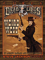 GURPS Deadlands Dime Novel 2 – Wanted: Undead or Alive – Cover