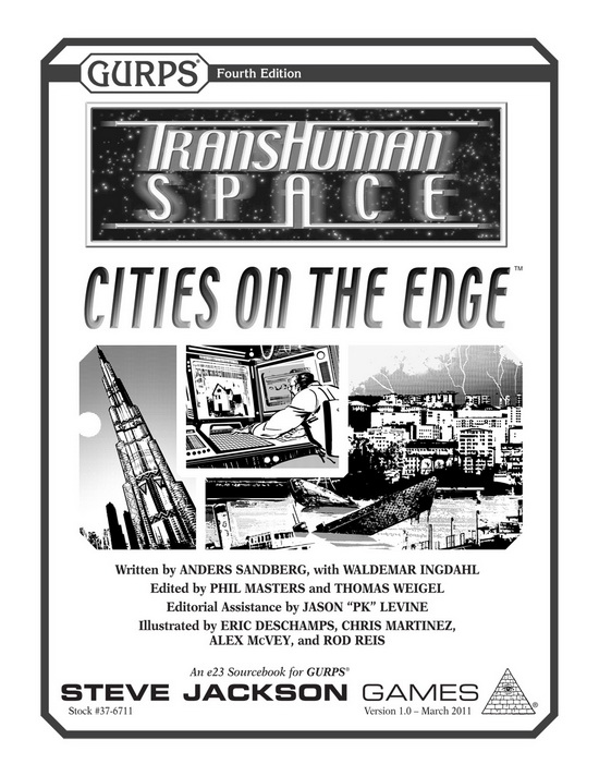 GURPS Transhuman Space: Cities on the Edge