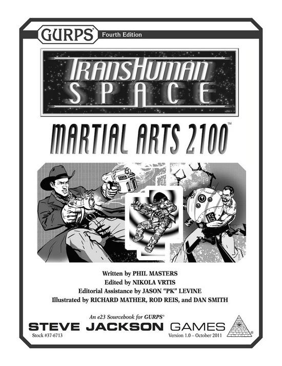 GURPS Transhuman Space: Martial Arts 2100