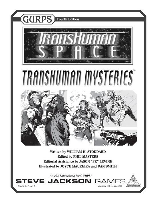 GURPS Transhuman Space: Transhuman Mysteries