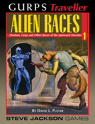 GURPS Traveller: Alien Races 1 – Cover