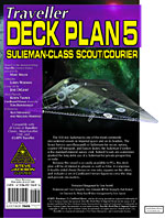 GURPS Traveller Deck Plan 5: Sulieman-Class Scout/Courier