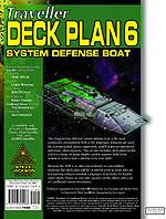 GURPS Traveller Deck Plan 6: Dragon-Class System Defense Boat