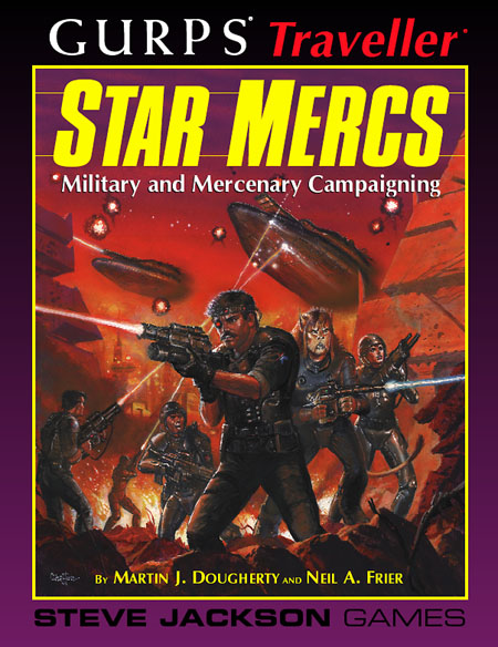 GURPS Traveller: Star Mercs