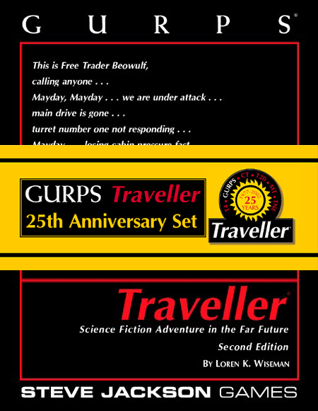 GURPS Traveller 25th Anniversary Set