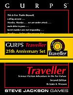 GURPS Traveller 25th Anniversary Set (Front)