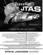 GURPS Traveller: Best of JTAS (Front)