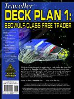 GURPS Traveller Deck Plan 1: Beowulf-Class Free Trader