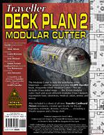 GURPS Traveller Deck Plan 2: Modular Cutter