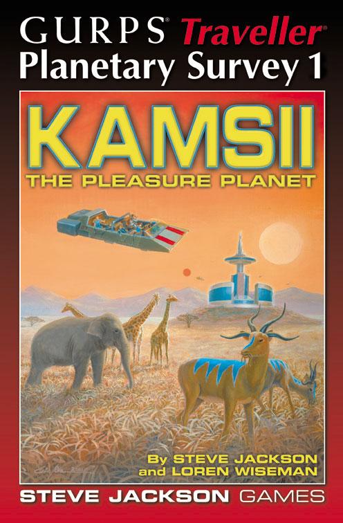GURPS Traveller: Planetary Survey 1 � Kamsii