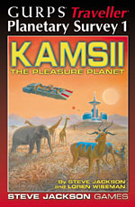 Planetary Survey 1 – Kamsii cover