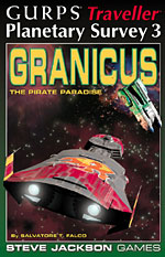 Planetary Survey 3 – Granicus cover