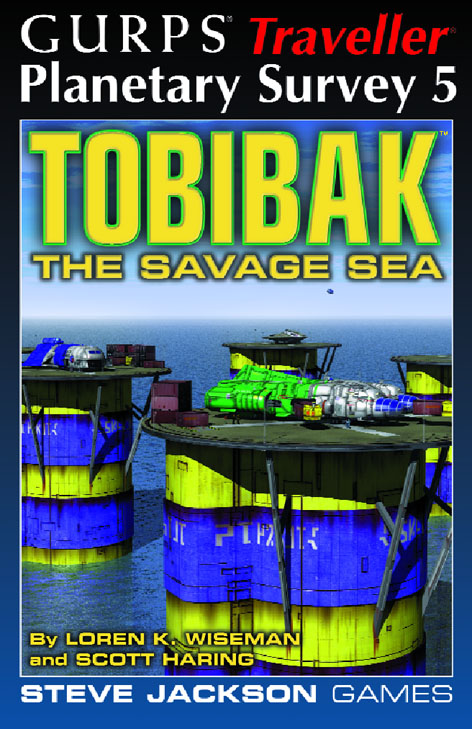 GURPS Traveller: Planetary Survey 5 � Tobibak