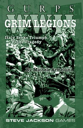 GURPS WWII: Grim Legions