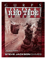 GURPS WWII: Red Tide Cover