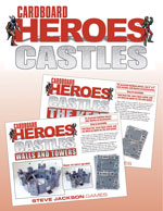 Cardboard Heroes: Walls and Towers cover