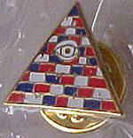 Illuminati Pin