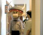 Super Munchkin mascot head