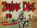 First screen of Zombie Dice Flash Demo